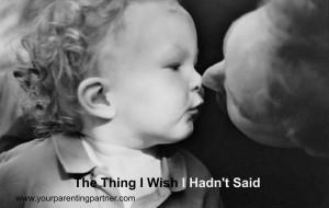 Thing I wish I hadn't said