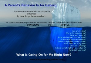 Parents Behavior Iceberg
